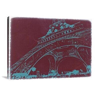 Naxart 'Eiffel Tower' Graphic Art Print on Canvas; 18'' H x 24'' W x 1.5'' D