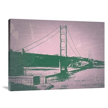 Naxart 'Golden Gate Bridge' Graphic Art Print on Canvas; 24'' H x 32'' W x 1.5'' D