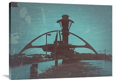 Naxart 'LAX' Graphic Art Print on Canvas; 12'' H x 16'' W x 1.5'' D