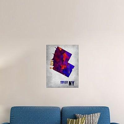 Naxart 'Chelsea New York' Graphic Art Print on Canvas; 24'' H x 18'' W x 1.5'' D
