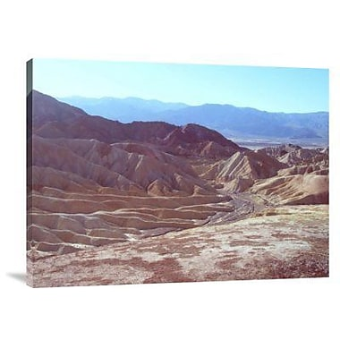 Naxart 'Death Valley Mountains 2' Photographic Print on Canvas; 24'' H x 32'' W x 1.5'' D