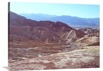 Naxart 'Death Valley Mountains 2' Photographic Print on Canvas; 18'' H x 24'' W x 1.5'' D