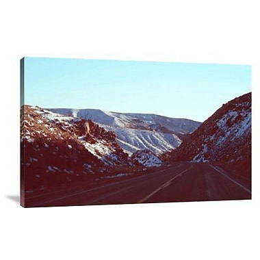 Naxart 'Death Valley Road' Photographic Print on Canvas; 20'' H x 30'' W x 1.5'' D