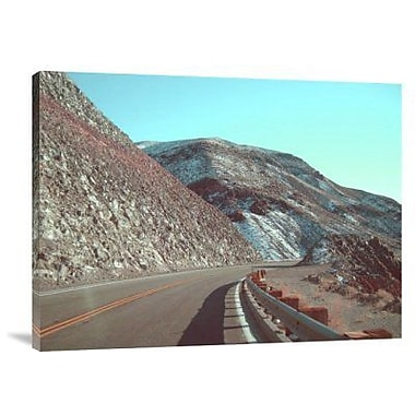 Naxart 'Death Valley Road' Photographic Print on Canvas; 18'' H x 24'' W x 1.5'' D