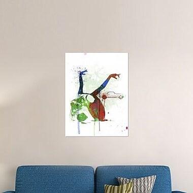 Naxart 'Camaro Ballet' Graphic Art Print on Canvas; 32'' H x 24'' W x 1.5'' D
