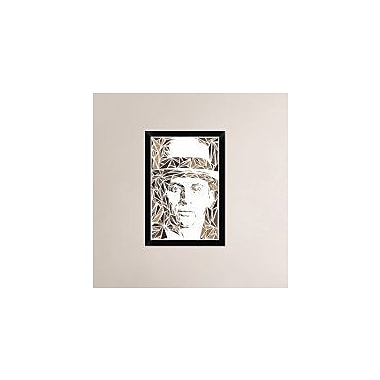 Naxart 'Meyer Lansky' Framed Graphic Art Print on Canvas; 26'' H x 18'' W x 1.5'' D