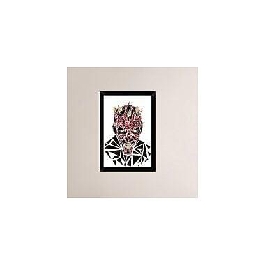 Naxart 'Darth Maul' Framed Graphic Art Print on Canvas; 26'' H x 18'' W x 1.5'' D
