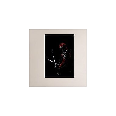 Naxart 'Deadpool' Framed Graphic Art Print on Canvas; 32'' H x 22'' W x 1.5'' D