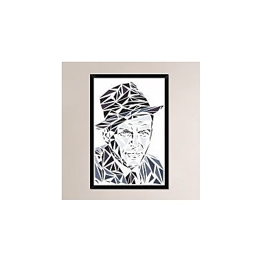 Naxart 'Frank Sinatra' Framed Graphic Art Print on Canvas; 38'' H x 26'' W x 1.5'' D