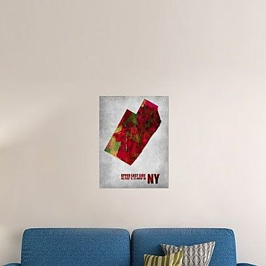 Naxart 'Upper East Side New York' Graphic Art Print on Canvas; 40'' H x 30'' W x 1.5'' D