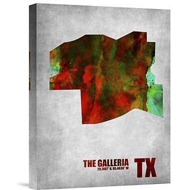 Naxart 'The Galleria Texas' Graphic Art Print on Canvas; 32'' H x 24'' W x 1.5'' D