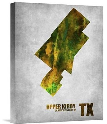 Naxart 'Upper Kirby Texas' Graphic Art Print on Canvas; 32'' H x 24'' W x 1.5'' D
