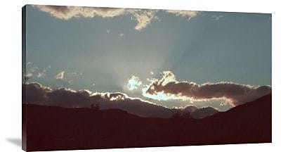 Naxart 'Sunset' Photographic Print on Canvas; 13'' H x 22'' W x 1.5'' D