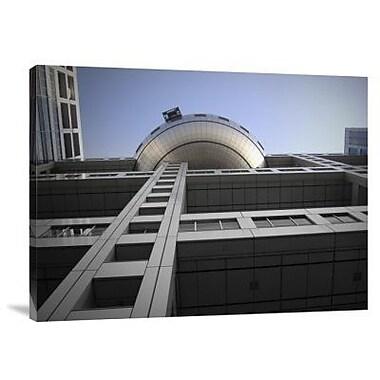 Naxart 'Fuji Building' Photographic Print on Canvas; 30'' H x 40'' W x 1.5'' D