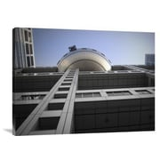 Naxart 'Fuji Building' Photographic Print on Canvas; 30 inch H x 40 inch W x 1.5 inch D by