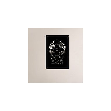 Naxart 'Bane Mask' Framed Graphic Art Print on Canvas; 26'' H x 18'' W x 1.5'' D