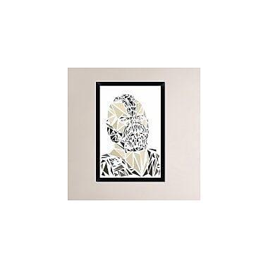 Naxart 'Bane' Framed Graphic Art Print on Canvas; 32'' H x 22'' W x 1.5'' D