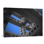 Naxart 'Floors of Fuji Building' Photographic Print on Canvas; 30 inch H x 40 inch W x 1.5 inch D by