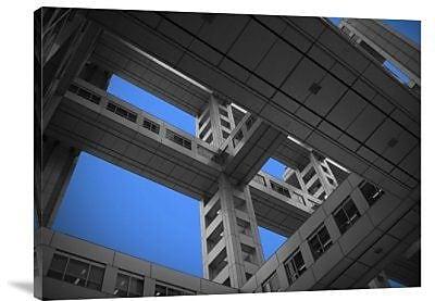 Naxart 'Floors of Fuji Building' Photographic Print on Canvas; 18'' H x 24'' W x 1.5'' D