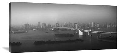 Naxart 'Grand View of Tokyo' Photographic Print on Canvas; 14'' H x 30'' W x 1.5'' D
