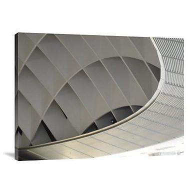 Naxart 'Inside Fuji Building' Photographic Print on Canvas; 12'' H x 16'' W x 1.5'' D