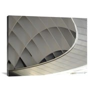 Naxart 'Inside Fuji Building' Photographic Print on Canvas; 30 inch H x 40 inch W x 1.5 inch D by