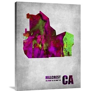 Naxart 'Hillcrest California' Graphic Art Print on Canvas; 40'' H x 30'' W x 1.5'' D