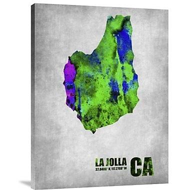 Naxart 'La Jolla California' Graphic Art Print on Canvas; 32'' H x 24'' W x 1.5'' D