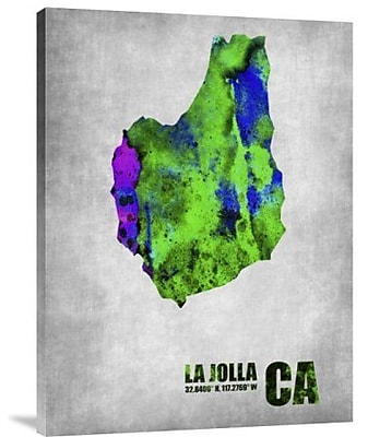 Naxart 'La Jolla California' Graphic Art Print on Canvas; 16'' H x 12'' W x 1.5'' D