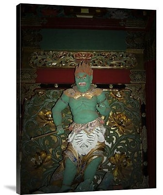 Naxart 'Green Sculpture' Photographic Print on Canvas; 40'' H x 30'' W x 1.5'' D