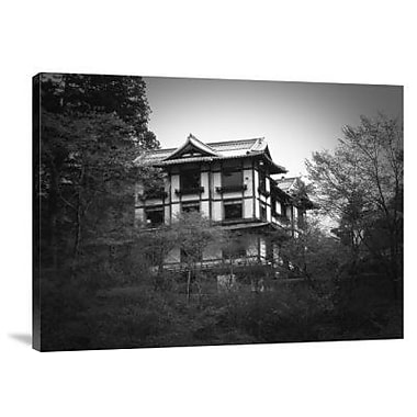 Naxart 'Japanese Traditional House' Photographic Print on Canvas; 18'' H x 24'' W x 1.5'' D