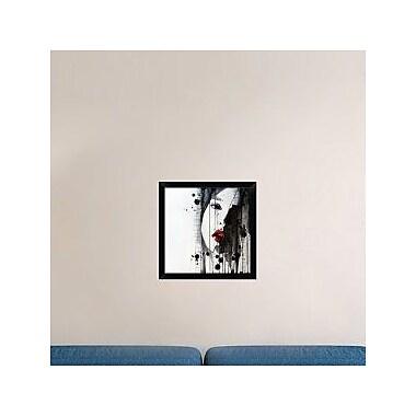 Naxart 'Doubt' Framed Painting Print on Canvas; 20'' H x 20'' W x 1.5'' D