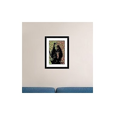 Naxart 'Jack Sparrow' Framed Graphic Art Print; 24'' H x 18'' W x 1.5'' D