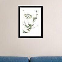 Naxart 'Salvador Dali' Framed Graphic Art Print; 24'' H x 18'' W x 1.5'' D