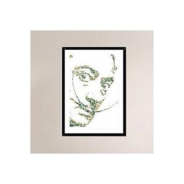 Naxart 'Salvador Dali' Framed Graphic Art Print; 42'' H x 30'' W x 1.5'' D