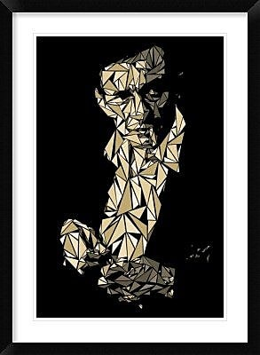 Naxart 'Johnny Cash' Framed Graphic Art Print; 36'' H x 26'' W x 1.5'' D