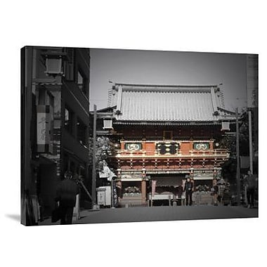Naxart 'Shrine in Tokyo' Photographic Print on Canvas; 12'' H x 16'' W x 1.5'' D