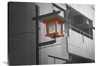 Naxart 'Tokyo Street Light' Photographic Print on Canvas; 12'' H x 16'' W x 1.5'' D