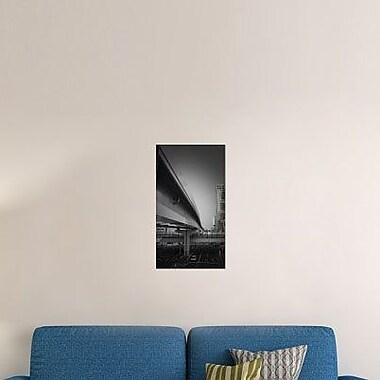 Naxart 'Tokyo Overpass' Photographic Print on Canvas; 16'' H x 9'' W x 1.5'' D