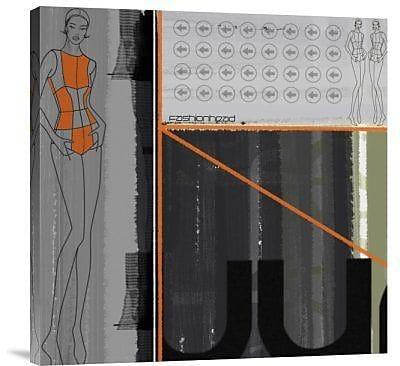 Naxart 'Fashion Head' Graphic Art Print on Canvas; 30'' H x 30'' W x 1.5'' D