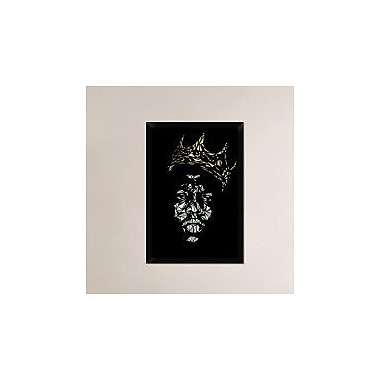 Naxart 'Notorious Big' Framed Graphic Art Print on Canvas; 32'' H x 22'' W x 1.5'' D