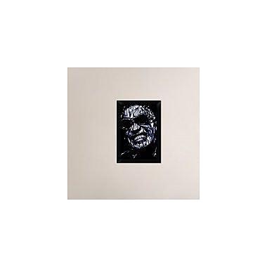 Naxart 'Ray Charles' Framed Graphic Art Print on Canvas; 20'' H x 14'' W x 1.5'' D