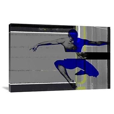 Naxart 'Inspiration' Graphic Art Print on Canvas; 16'' H x 24'' W x 1.5'' D