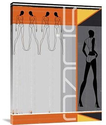 Naxart 'Fashion Tunes' Graphic Art Print on Canvas; 24'' H x 18'' W x 1.5'' D