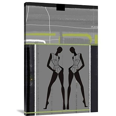 Naxart 'Fashion Dance' Graphic Art Print on Canvas; 24'' H x 16'' W x 1.5'' D
