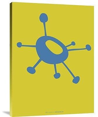 Naxart 'Funny Shape Lask 1' Graphic Art Print on Canvas; 40'' H x 30'' W x 1.5'' D