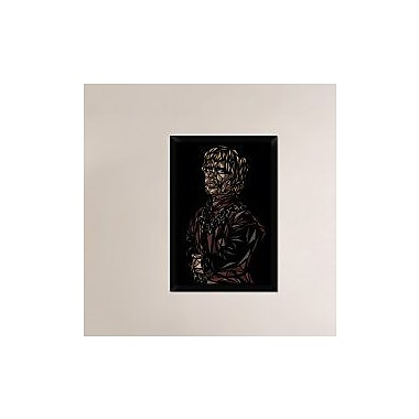 Naxart 'Tyrion Lannister' Framed Graphic Art Print on Canvas; 32'' H x 22'' W x 1.5'' D