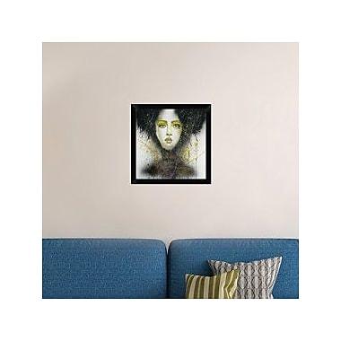 Naxart 'Dark Queen' Framed Painting Print on Canvas; 20'' H x 20'' W x 1.5'' D