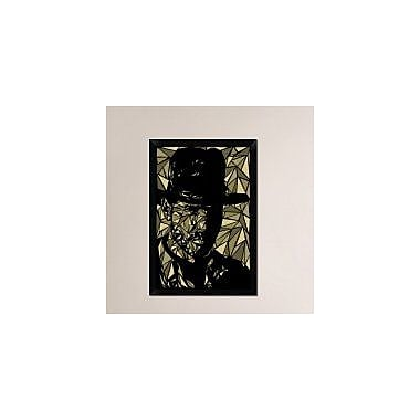Naxart 'Indiana Jones' Framed Graphic Art Print on Canvas; 32'' H x 22'' W x 1.5'' D