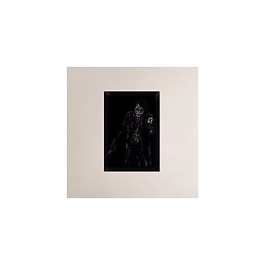 Naxart 'Jocker' Framed Graphic Art Print on Canvas; 26'' H x 18'' W x 1.5'' D